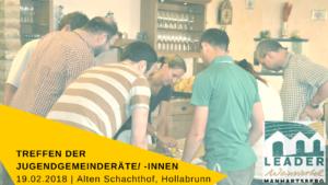 Einladung_Treffen der JGR © LEADER Region Weinviertel Manhartsberg